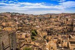 Matera districts