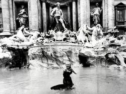 Anita Ekberg in Federico Fellini's La Dolce Vita.