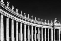St. Peter's Basilica column